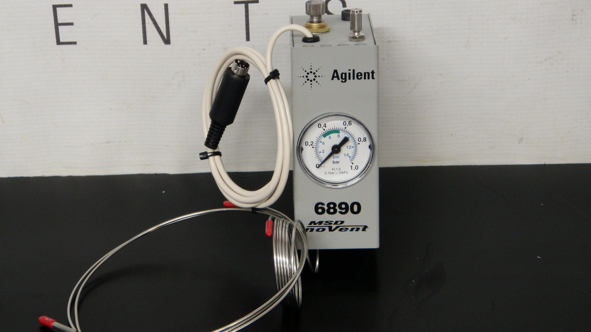 Agilent 6890 MSD No Vent Part No  5183-4782 and Accessories